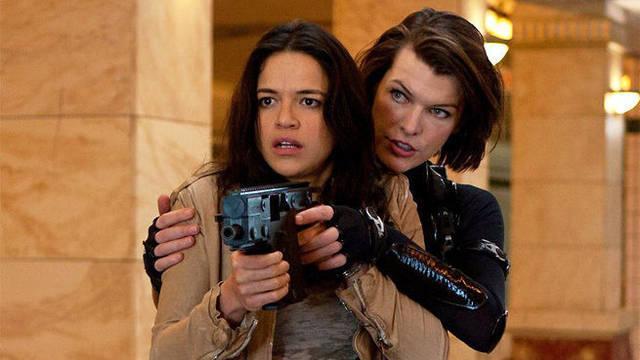 Milla Jovovich casi abandona Resident Evil por celos de Michelle Rodriguez