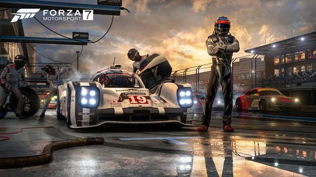 Forza Motorsport 7 detalla sus mejoras en Xbox One X y sus contenidos
