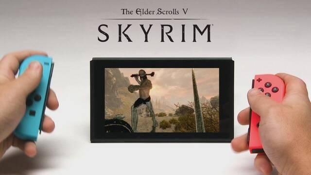 Bethesda muestra Skyrim para Nintendo Switch en el E32017