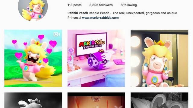 Mario + Rabbids Kingdom Battle lanza perfil en Instagram