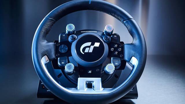 Así es el nuevo volante de Thrustmaster para Gran Turismo Sport