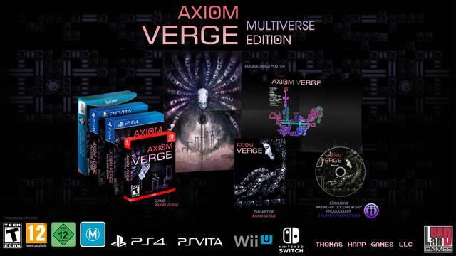 La edición física de Axiom Verge puede retrasarse hasta octubre