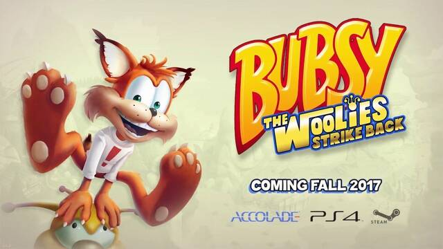 Accolade anuncia el regreso de Bubsy en PS4 y PC