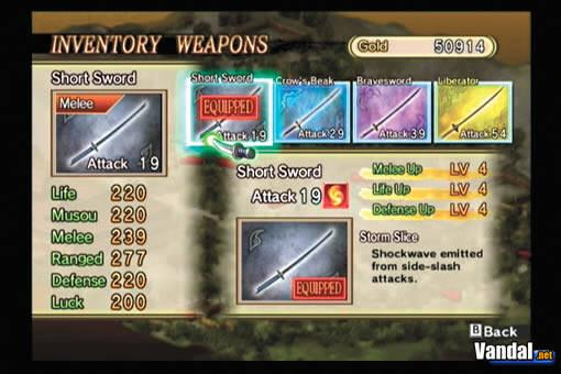 Nuevas imágenes de Samurai Warriors Katana