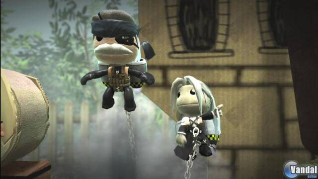 TGS: Snake y Sephiroth llegan a Little Big Planet