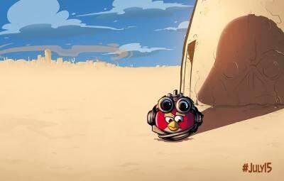 Este lunes podría anunciarse una nueva entrega de Angry Birds: Star Wars