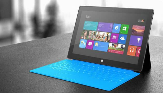Microsoft rebaja su tableta Surface RT 150 euros