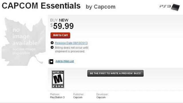 Capcom podría lanzar un recopilatorio de sus juegos más emblemáticos de la generación