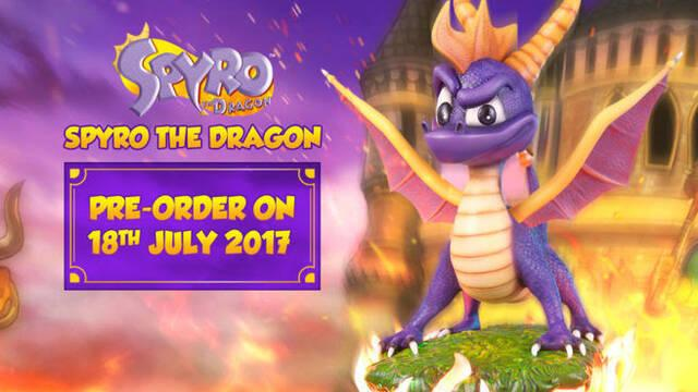 First 4 Figures anuncia una figura de Spyro the Dragon