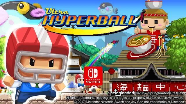 El título party Ultra Hyperball se deja ver en Nintendo Switch