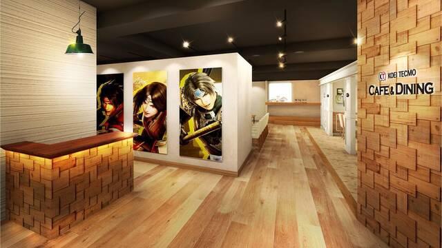 Koei Tecmo abre un restaurante en Tokio