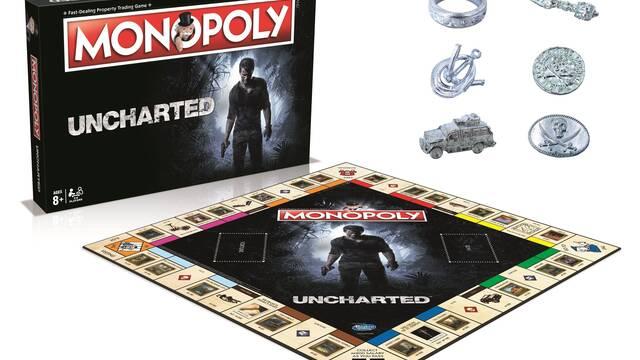 Anunciado un Monopoly con motivos de la saga Uncharted