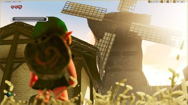 Así se ve Kakariko Village de Zelda: Ocarina of Time en Unreal Engine 4