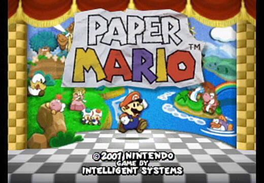 Descubierto un singular error en el veterano Paper Mario