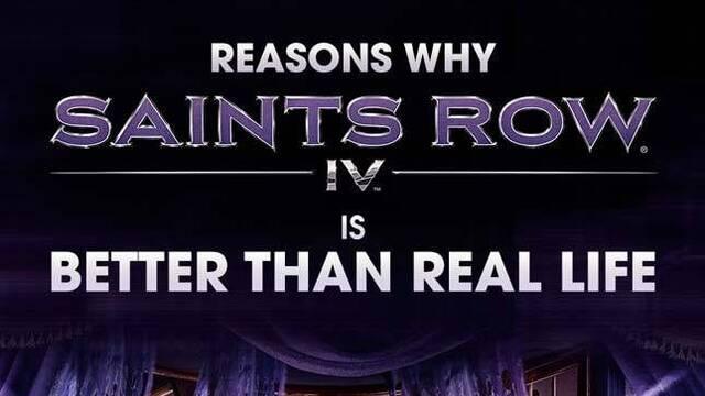 Saints Row IV nos informa de sus datos en una imagen
