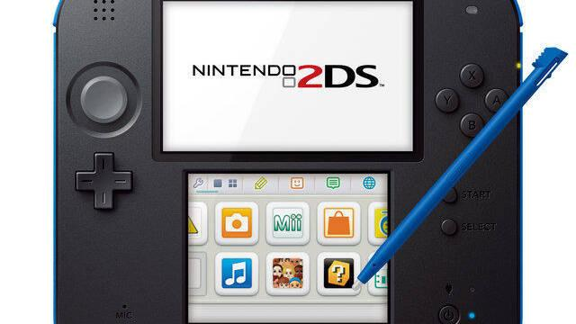 Las pantallas de Nintendo 2DS son, en realidad, una sola