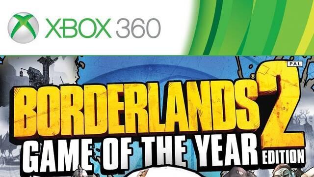 Anunciada la edición 'juego del año' de Borderlands 2