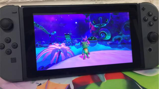 Playtonic está ya ultimando detalles en Yooka-Laylee para Switch