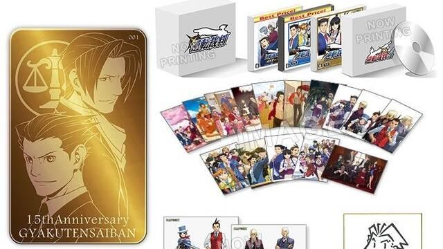 Capcom anuncia una edición especial de la saga Ace Attorney por más de 1000€