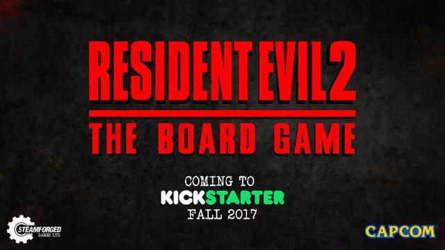 Anunciado el juego de mesa oficial de Resident Evil 2