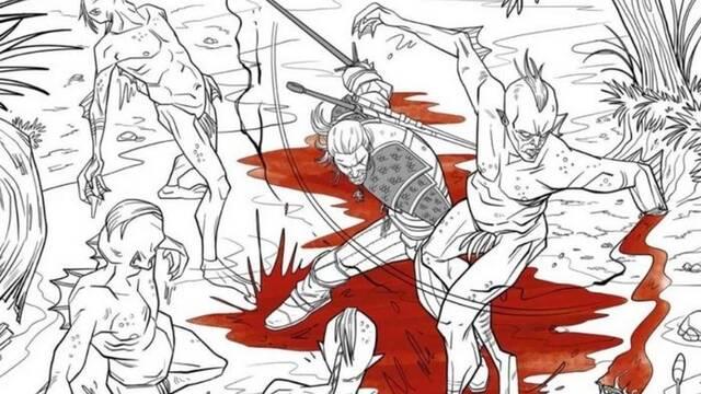 The Witcher 3: Wild Hunt recibirá un libro para colorear el 1 de noviembre