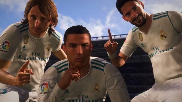 FIFA 18 muestra nuevo tráiler con C.Ronaldo y Griezmann como protagonistas