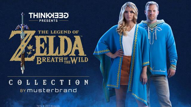 Anunciada una línea de ropa con licencia de Zelda: Breath Of The Wild