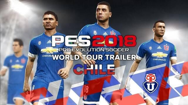 Konami se asocia con el Colo-Colo para PES 2018