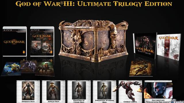Anunciado God of War III: Ultimate Trilogy Edition para Europa