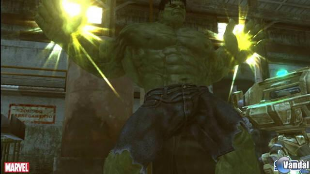 Nuevas im�genes de The Incredible Hulk