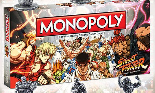 Ya est� disponible el Monopoly de Street Fighter