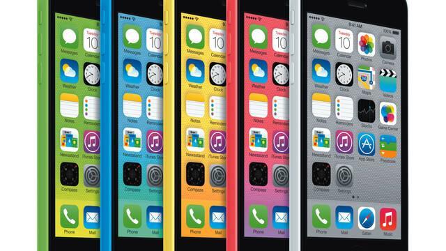 Apple hace oficial el iPhone 5C