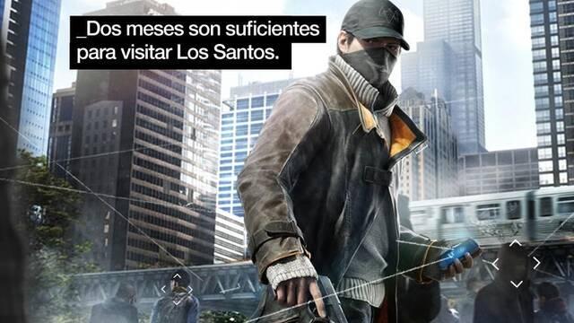 Ubisoft nos recuerda que 'dos meses son suficientes para visitar Los Santos'