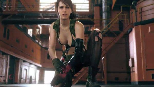 Quiet se muestra en un nuevo vídeo de Metal Gear Solid V: The Phantom Pain