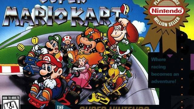 Super Mario Kart cumple 25 años