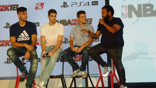 Crónica: 2K Games presenta en España NBA 2K18