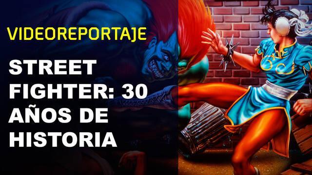 Street Fighter: 30 años de historia repartiendo tortas pixeladas