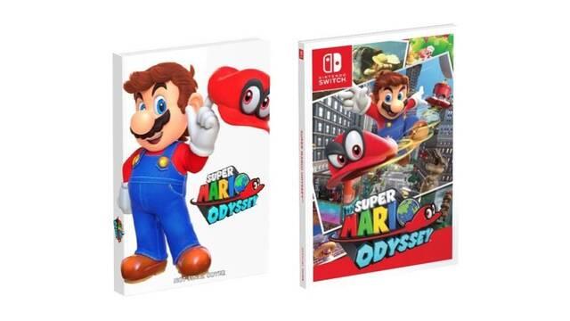 Presentadas las dos versiones de la guía oficial de Super Mario Odyssey