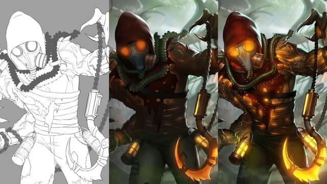 Injustice 2 presenta los conceptos de arte de su desarrollo