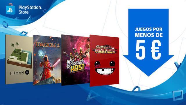 PlayStation Store inicia la promoción 'Juegos por menos de 5 euros'