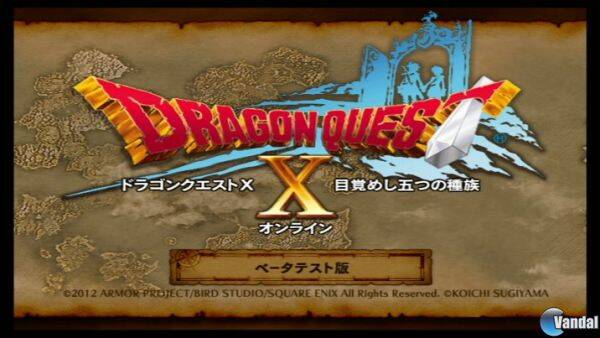 Nuevas imágenes de Dragon Quest X