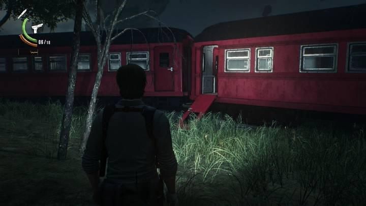accidente de trenes - The Evil Within 2