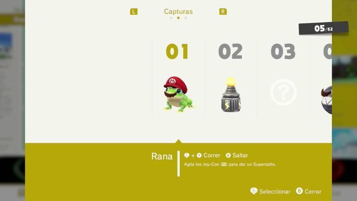 Rana - Super Mario Odyssey