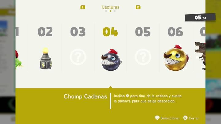 Chomp cadenas - Super Mario Odyssey