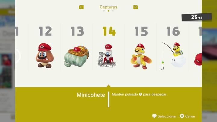 Minicohete - Super Mario Odyssey