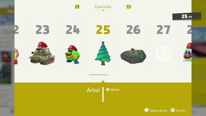 Árbol - Super Mario Odyssey