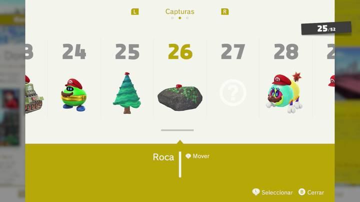 Roca - Super Mario Odyssey