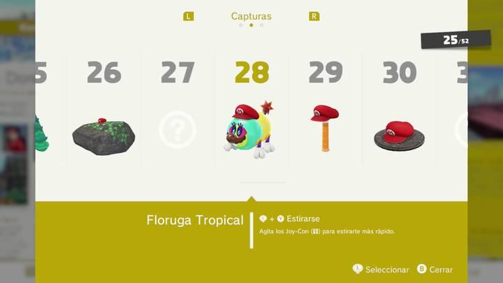 Floruga Tropical - Super Mario Odyssey