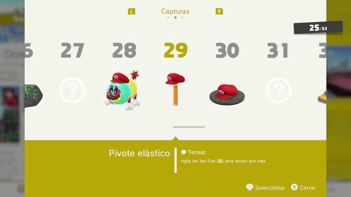 Pivote elástico - Super Mario Odyssey