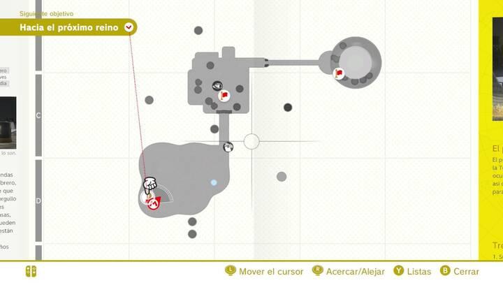 Mapa del Reino Sombrero
